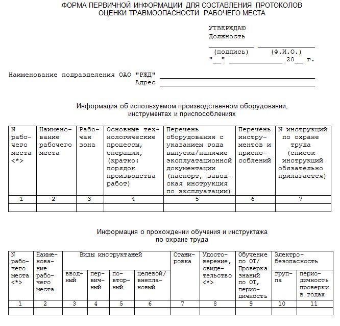 приказ о создании временного рабочего места образец img-1